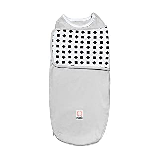 Nanit Breathing Wear Swaddle 1pk - Size Large, 3-6 Months - Pebble