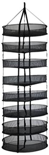 Grower's Edge Dry Rack w/ Clips 2 ft by Grower's Edge by Grower's Edge