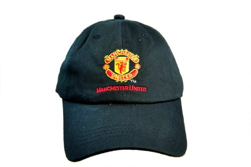 FC MANCHESTER UNITED OFFICIAL TEAM LOGO CAP / HAT - MU057