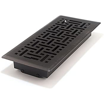 Decor grates ajh410 rb oriental floor register for Accord design decoration