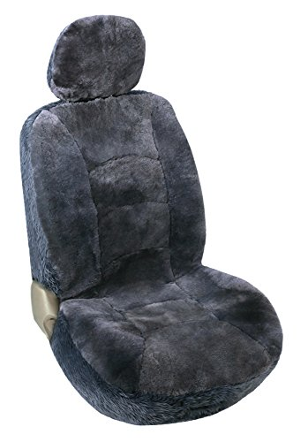 Leader Accessories Genuine Sheepskin Seat Cover Protector