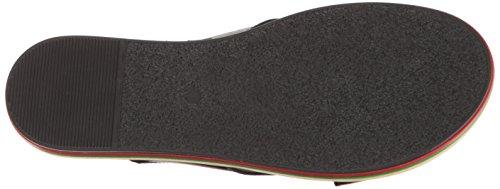 LFL Rainbow Women's Sandal for Black Li Life Lust Flat by 4qZwra4