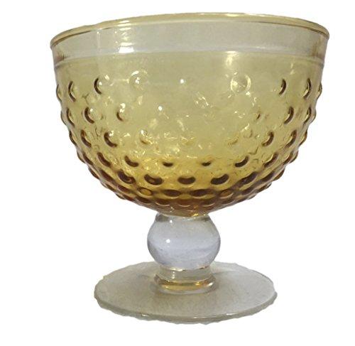 Hobnail Stem Dessert Sherbet Cocktail Glass (Set ()