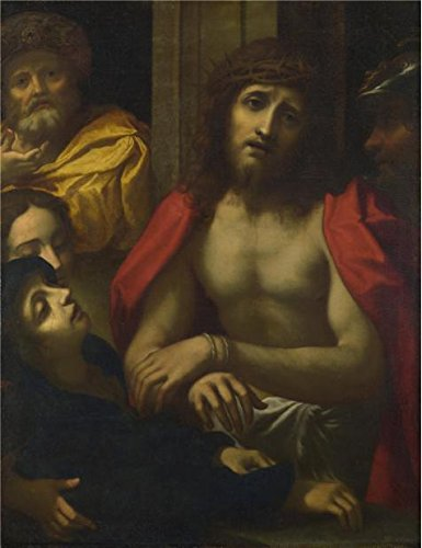 ['After Correggio - Christ Presented To The People (Ecce Homo),16th Century' Oil Painting, 24x31 Inch / 61x79 Cm ,printed On High Quality Polyster Canvas ,this Imitations Art DecorativePrints On Canvas Is Perfectly Suitalbe For Gift For Bf And Gf And Home Artwork And] (16th Century Costumes For Sale)