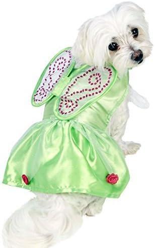 Mascota Perro Gato Disney Campanilla Verde Hada Disfraz Ropa Ropa ...