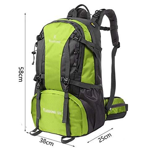 Hommes D taille 58 Voyagent Plein Camping Femmes À Grande Dos Sac couleur 38 De 55l Et Capacité Alpinisme Randonnée Sacs En A Air 25 Cm waq8gHq