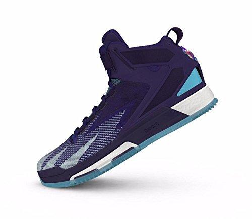Adidas Derrick Rose 6 Boost Zapatillas de baloncesto para Hombre Negro, 53 1/3