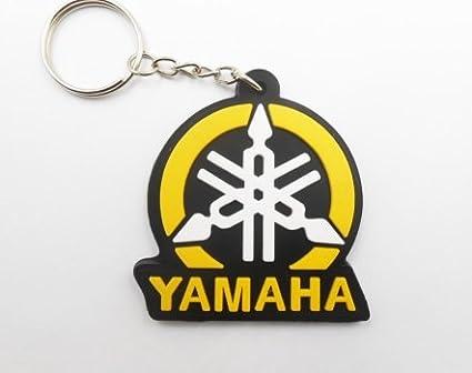 keyrings Keychains puerta llaves –  Yamaha –  Yellow Black –  Motocross –  Motorcycle –  Motorbike –  skater –  Scooter &nda