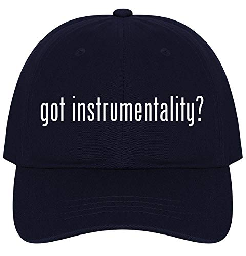 The Town Butler got Instrumentality? - A Nice Comfortable Adjustable Dad Hat Cap, Navy