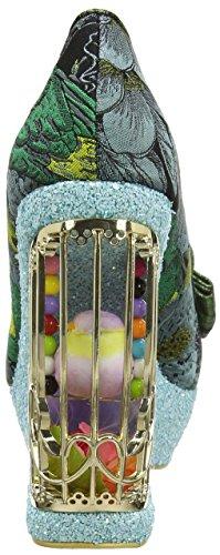 Pompe Irregolare Scelta Damen Ornato Agador Multicolore (turchese)