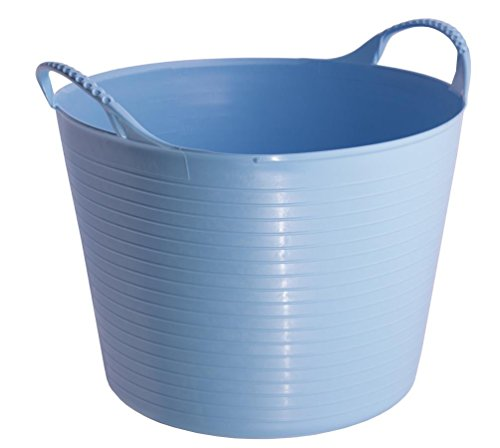 Tubtrugs SP14SKBL Flexible Sky Blue Small 14 Liter/3.7 Gallon Capacity - Extra Large Bucket