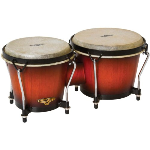 Latin Percussion CP221VSB Traditional Bongos - Vintage Sunburst