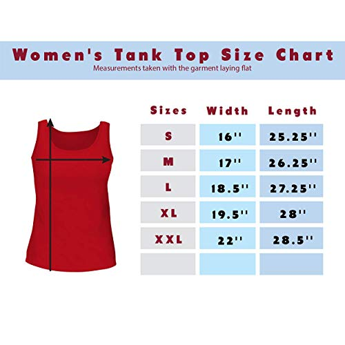 BH Cool Designs #Maya - Cute Womens Graphic Tank Top