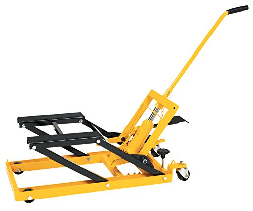 Snowmobile Lift (Performance Tool W41035 1/2 Ton (1,500 lbs) Hydraulic Motorcycle, ATV, Snowmobile & Multi-Purpose Lift)