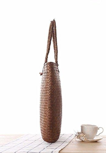Bags fashion Pastoral Woven Shoulder women all Women's Beach Straw Bags match Handbag mori Gtvernh 4gwqH6n