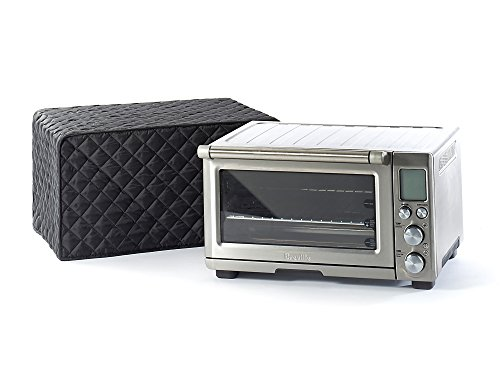 CoverMates – Quilted Toaster Oven Cover, Black