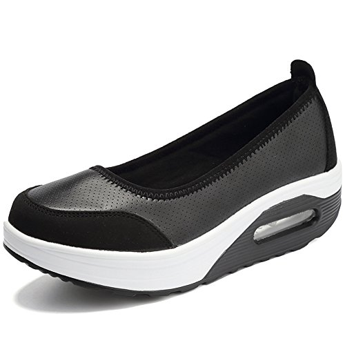 MAXTEC (맥스 테크) 22.5cm ~ 26.0cm 간호사 신발 선체 바닥 로퍼 여성 다이어트 자세 교정 각선미 경량 운동화 서서 일 큰 사이즈 간호사 그레이/블랙/화이트/레드