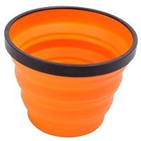 Sea to Summit X X Collapsible Silicone Mug-Orange