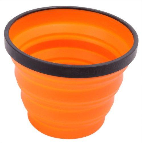 Sea to Summit X X faltbar Silikon mug-orange, unisex, X Collapsible, orange, O/S N/A
