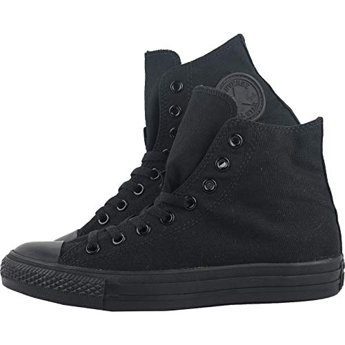 black Monochrome Nero All Unisex Sneaker Canvas Star Hi Converse Adulto C8qx1RPWw
