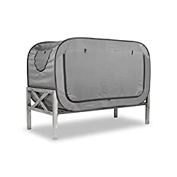 Privacy Pop Bed Tent (Full) - GRAY