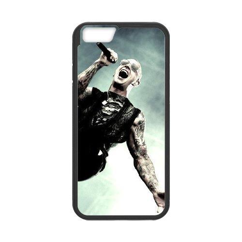 Avenged Sevenfold Black coque iPhone 6 Plus 5.5 Inch Housse téléphone Noir de couverture de cas coque EBDOBCKCO12667