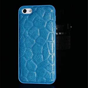 LCJ Upscale Veneered Watercube PC Hard Case for iPhone 6 (Assorted Colors) , Blue