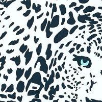 Bañador de una sola pieza con estampado Snow Tiger - Mujer Blanc