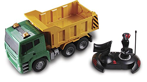 Cat Mega Dump (Kid Galaxy Mega Construction Remote Control Dump Truck. 7 Function RC Earth Mover, 27 MHz)