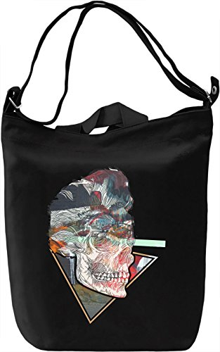 Elvis Skull Borsa Giornaliera Canvas Canvas Day Bag  100% Premium Cotton Canvas  DTG Printing 