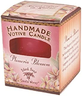 product image for Island Soap & Candle Works Individual Votive Candle, Plumeria