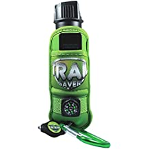 Trail Saver - Pepper Spray For Hikers - Complete Safety Package with Compass, LED Light, Safety Whistle and Climbing Clip - 4 Ounces