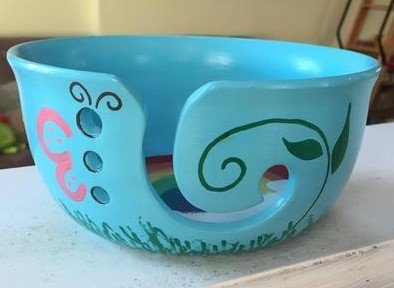 Large Yarn Bowl - Paint Your Own Ceramic Keepsake by New Hampshire Craftworks (Image #2)