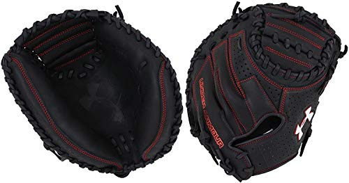 Under Armour Baseball UACM-200 Deception Series Baseball Catching Mitt, Black, Adult 33.5'' by Under Armour Baseball