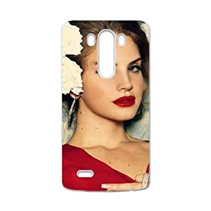 Fantastic red sexy woman Cell Phone Case for LG G3