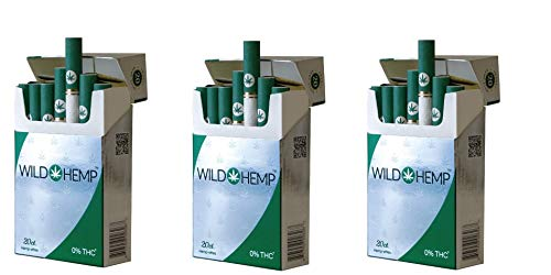 (Wild Hemp Cigarettes - Hemp-Ettes (3 Pack of 60 Hemp-ettes))