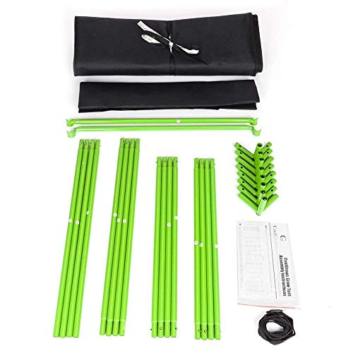 "CoolGrows 2x2x4 Feet Small Indoor Mylar Hydroponics Grow Tent (24""x 24""x 48"")"