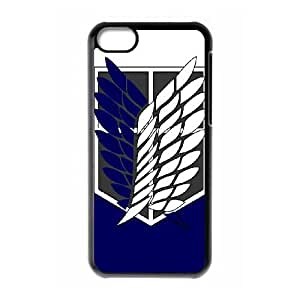 iPhone 5C Phone Case Attack On Titan Cover Personalized Cell Phone Cases NGH832278