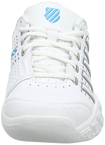 Light Performance Scarpe Carpet Ocean Hawaiian Bianco Tennis K EU Swiss Donna Bigshot LTR White da 5wYtqT