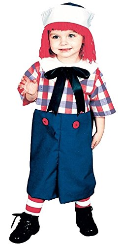 Raggedy Ann Toddler Costume (Raggedy Andy Costume - Toddler Costume)