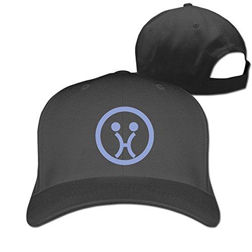 Funny Zodiac Logo Pisces Emoji Face Meme Adjustable Baseball Cap