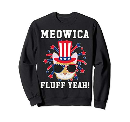 Meowica Fluff Yeah - Bengal Cat Sweatshirt