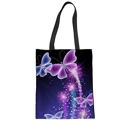 Nopersonality Print Shoulder Casual Bags Daily Butterfly Tote Butterfly Printed Use Women Bag 3 Lady rUxwnr7qp