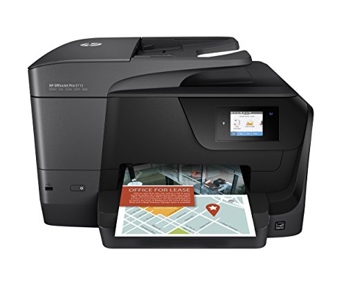 HP Officejet Pro 8715 All-in-One Multifunction Printer - Thermal Inkjet - - Inkjet Scanner