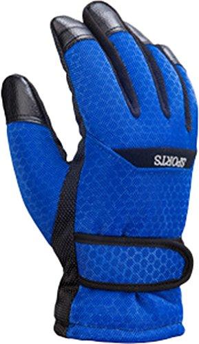 Corail Homme Andyshi À Bleu D'hiver Polaire Gant Doublure De Résistant Ski L'usure Élégant Conduite XWdc6d