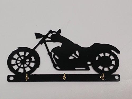 Chopper Motorcycle Key Holder Rack Hook Organizer Wall Mounted by Cycle Key Racks