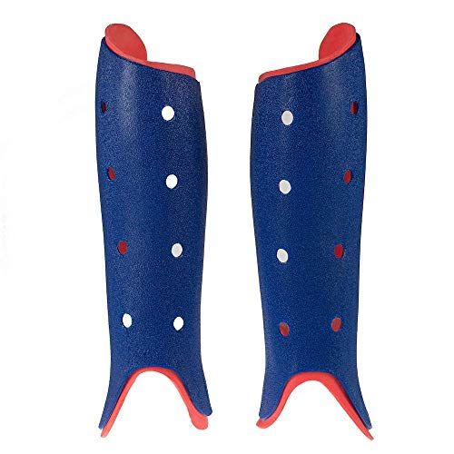 Byte Club Field Hockey SHINGUARDS Navy RED (Small)