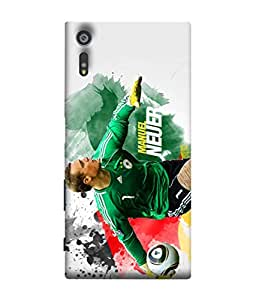ColorKing Football Neuer Germany 04 Multi Color shell case cover for Sony Xperia XZ