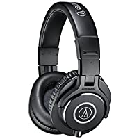 Audio-Technica ATH-M40x Professional Studio Monitor Headphones (Certified Refurbished)