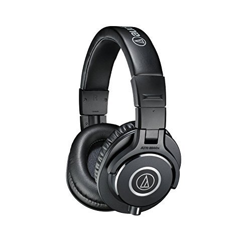 Compra Audio-Technica ATH-M40x Professional Studio Monitor Headphones (Certified Refurbished) en Usame